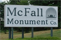 McFall Monuments  Galesburg, IL