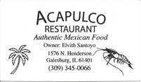 Acapulco Restaurant Elvith Santoyo