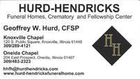 Hurd-Hendricks Funeral Homes Geoffrey Hurd